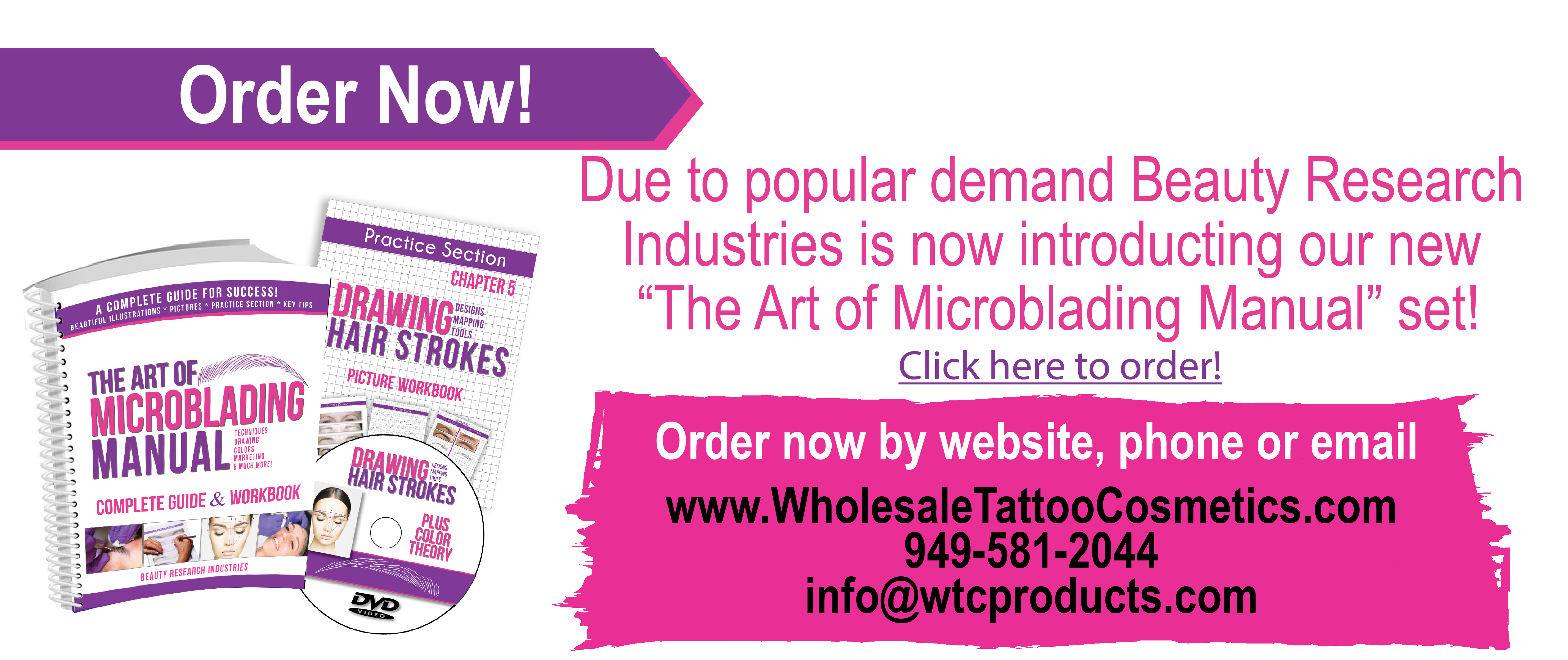 Wholesale Tattoo Cosmetics - Cosmetic Tattoo Supplies The Art Of Microblading Manual