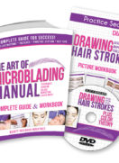 Start Microblading Today With The Proper Education. It's The Key To Happy Clients! The Art Of Microblading Manual is now revamped!