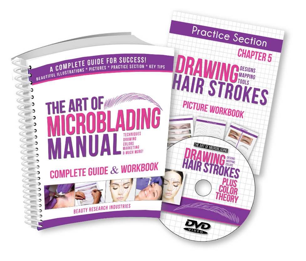 Wholesale Tattoo Cosmetics, Cosmetic Tattoo Supplies, The Art Of Microblading, The Permanent Makeup Manual