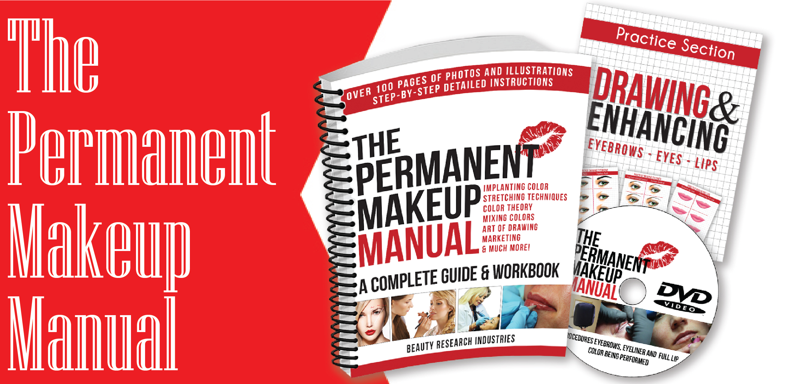 wholesale tattoo cosmetics, cosmetic tattoo supplies, the permanent makeup manual