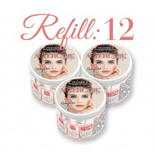 Nu Gen Aftercare for Permanent Makeup & Microblading – Refill w/ 12 1oz Jars -No Display