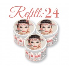 Nu Gen Aftercare for Permanent Makeup & Microblading – Refill w/ 24 1oz Jars (2 Additional Jars FREE)