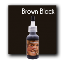 Custom Cosmetic Color - Cool Brown Black