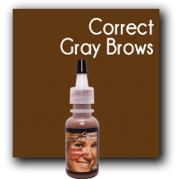Custom Cosmetic Color - Correct Gray Brows