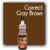 Pigment Color: Correct Gray Brows