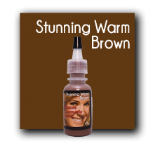Custom Cosmetic Color - Stunning Warm Brown