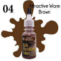 Rich Microblade Colors - #04 Attractive Warm Brown