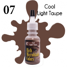 Rich Microblade Colors - #07 Cool Light Taupe