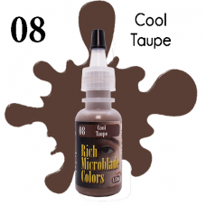 Rich Microblade Colors - #08 Cool Taupe
