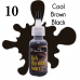 Rich Microblade Colors - #10 Cool Brown Black