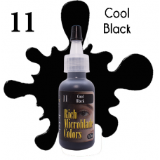 Rich Microblade Colors - #11 Cool Black