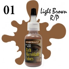 Rich Microblade Colors - 01 Light Brown R/P