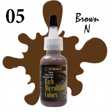 Rich Microblade Colors - 05 Brown N