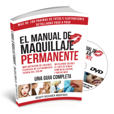 The Permanent Makeup Manual w/ Instructional DVD - Spanish