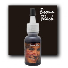 Custom Cosmetic Color - Brown Black
