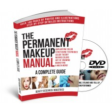 The Permanent Makeup Manual w/ Instructional DVD